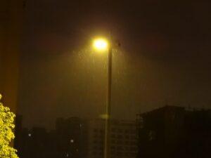 雨の日の空気