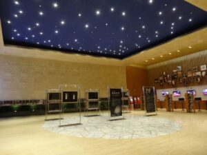 上海交響楽団音楽庁(ホール)のロビー
