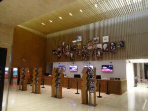 上海交響楽団音楽庁(ホール)のチケットカウンター