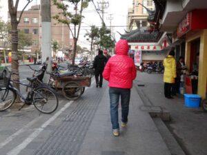 上海の冬の服装