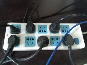 中国の電源分配コンセント