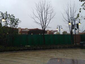 上海ディズニーランドの入場ゲート