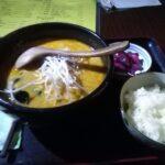 日本式の胡麻風味担担麺(タンタン麺・担々麺)を発見 五龍さん