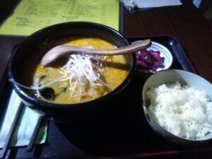 五龍の赤龍(担担麺)ラーメンセット