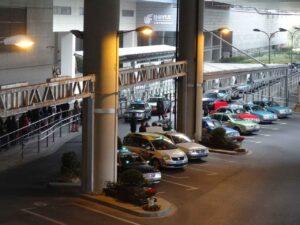 上海虹橋国際のタクシー乗り場