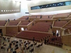 上海交響楽団ホールの客席