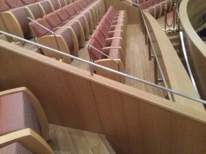 上海交響楽団ホールの座席