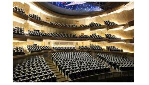上海音楽院歌劇院の模型内部
