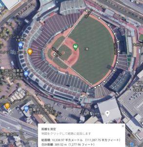 広島スタジアムのフェアグラウンド