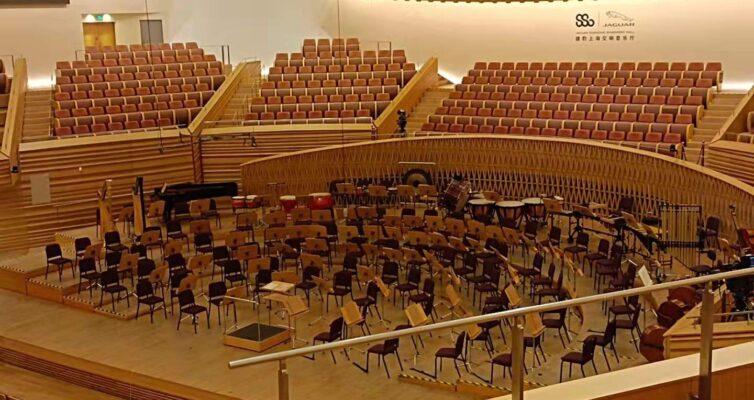 上海交響楽団コンサートホール内部